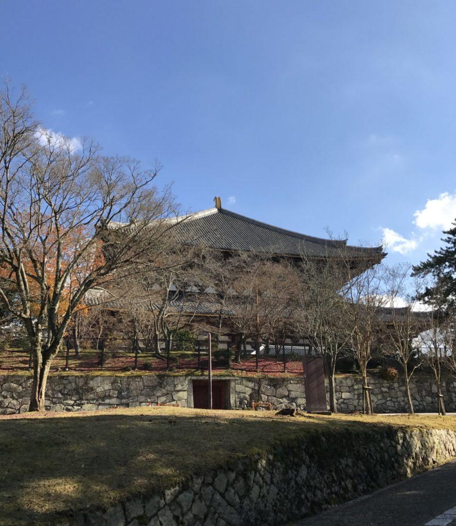 東大寺、奈良マラソンの会場近く