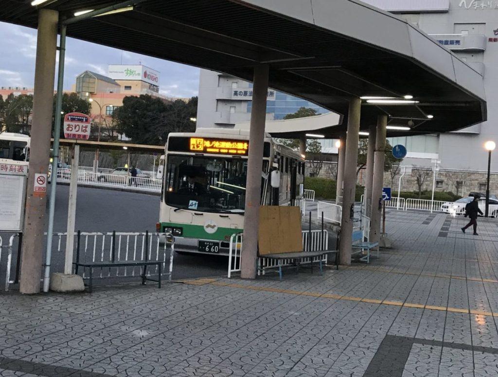 奈良マラソンの早朝シャトルバス