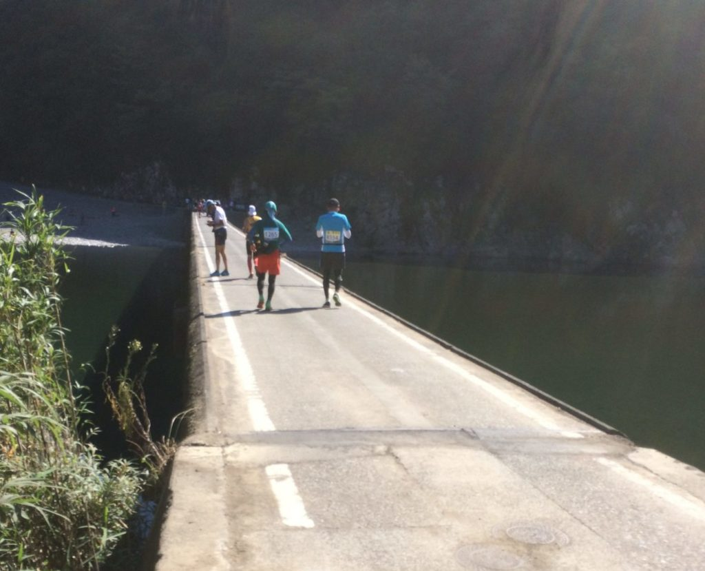 四万十ウルトラマラソンの沈下橋