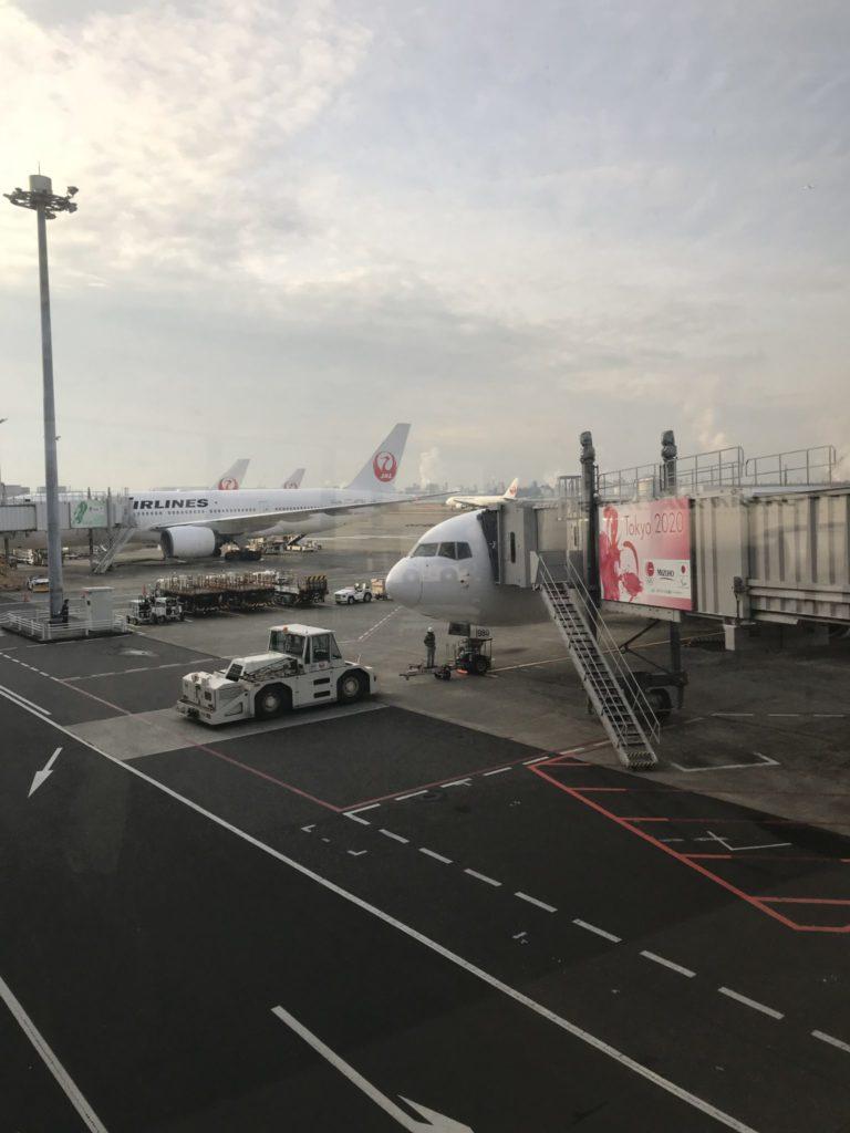 羽田空港、別大へマラソン遠征
