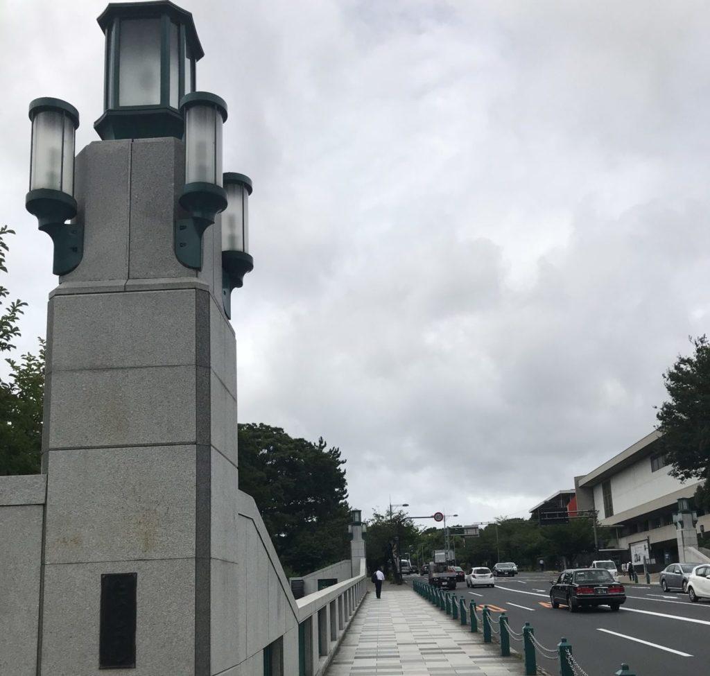 皇居ラン、竹橋の上りはキツイ