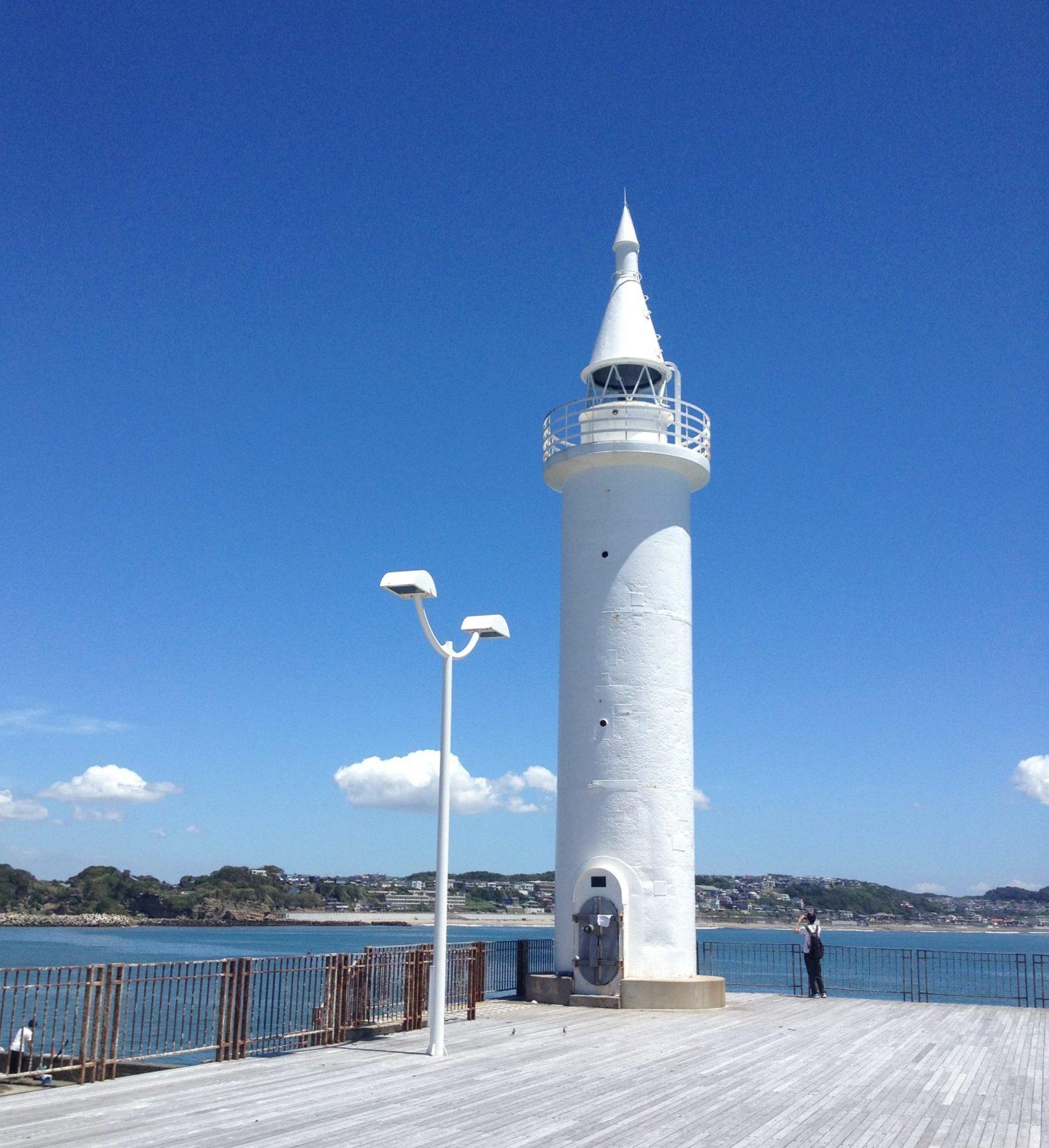 江ノ島の灯台、ランの後はここへ