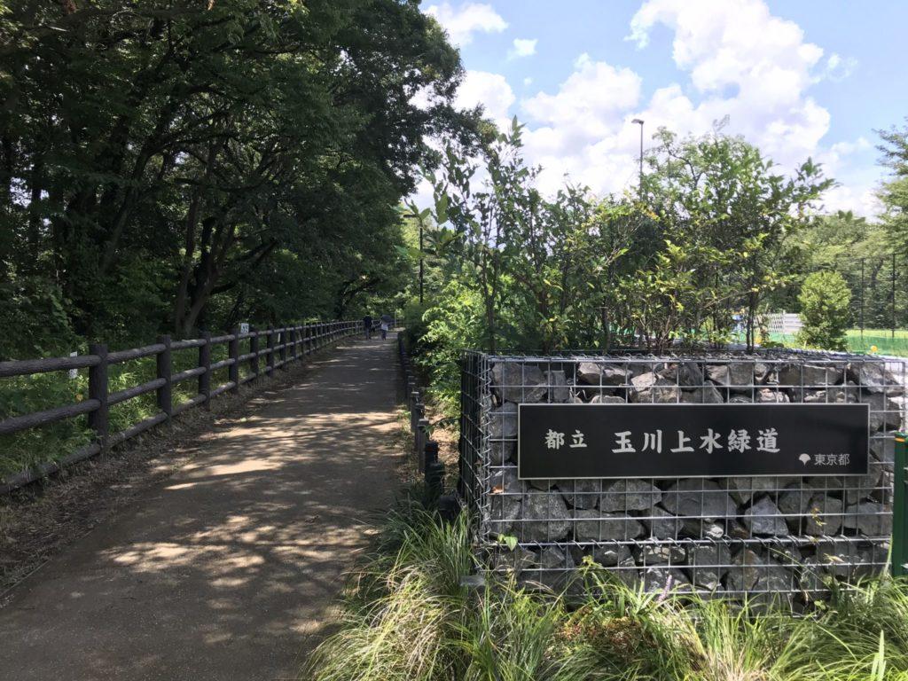 玉川上水ランの始点は富士見ヶ丘駅が最寄り