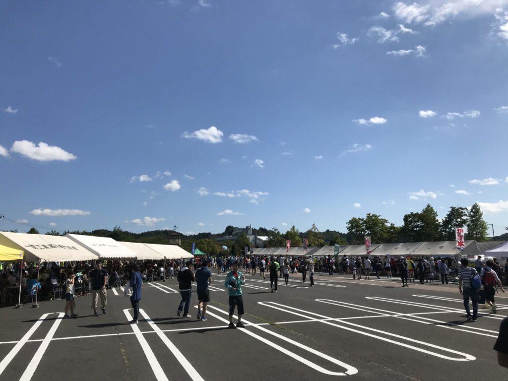 一関国際ハーフマラソン会場