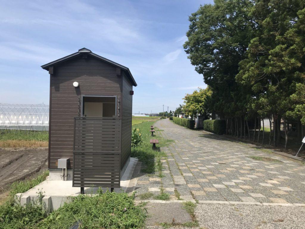 赤谷線サイクリングロードのトイレ事情