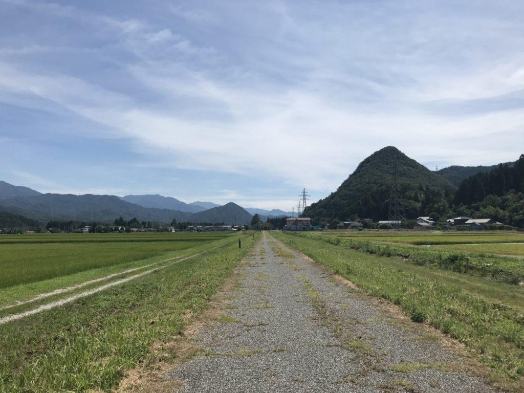 赤谷線サイクリングロード