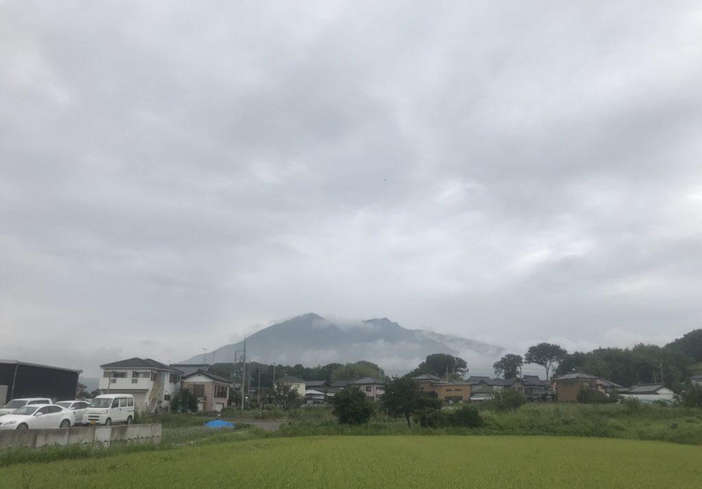 つくばりんりんロードから見えた筑波山