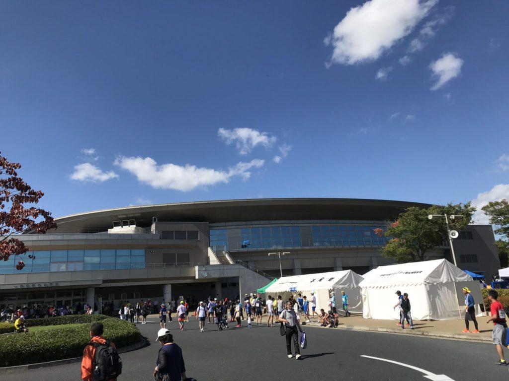 一関国際ハーフマラソンの会場