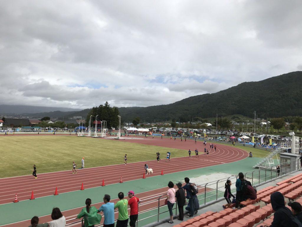 鶴ケ城ハーフマラソンの競技場