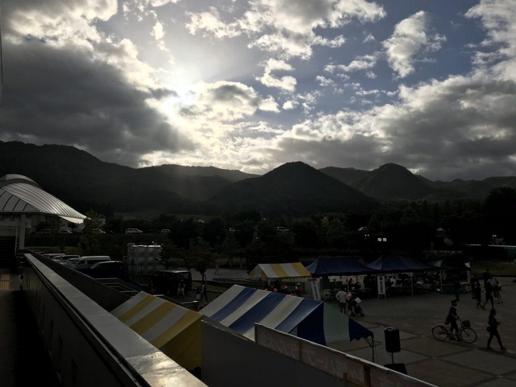鶴ケ城ハーフマラソンの会場