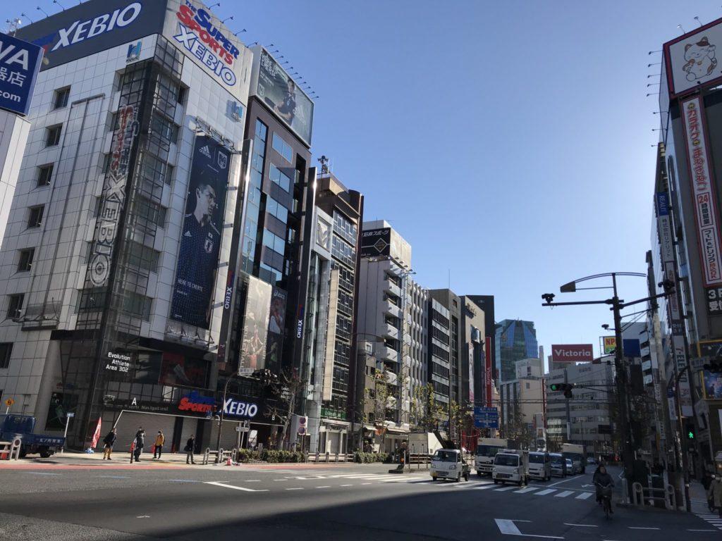 神田スポーツ店街