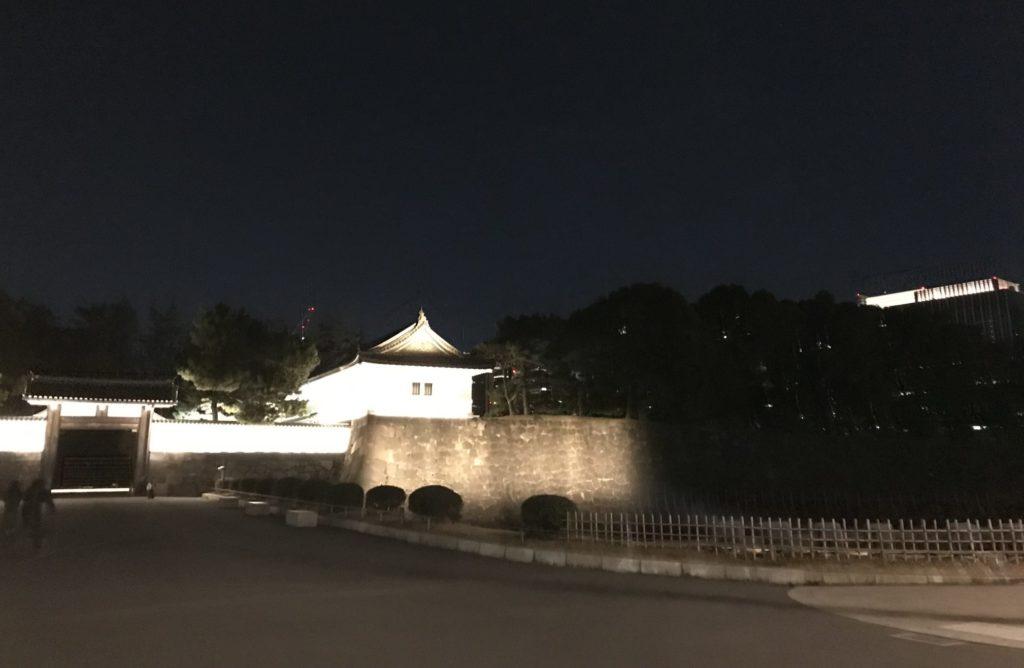 夜の皇居ランニング