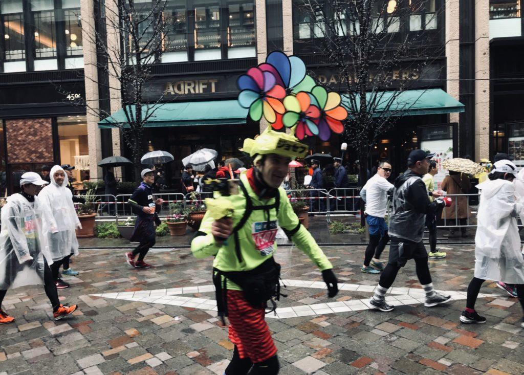 東京マラソンの海外ランナーのノリ