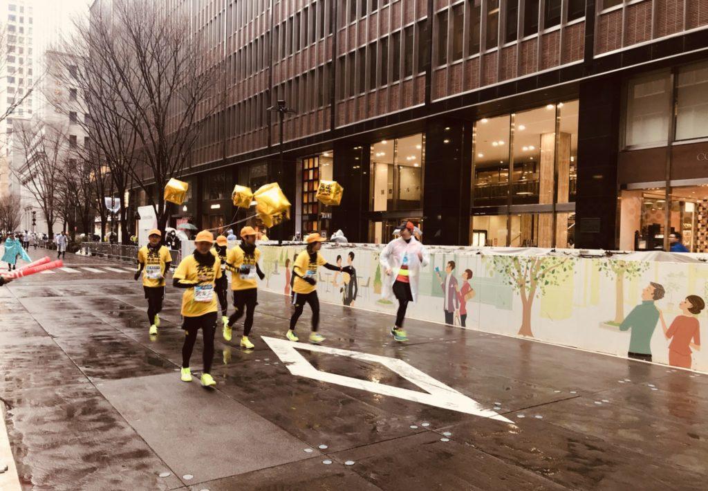 東京マラソン完走サポートランナー