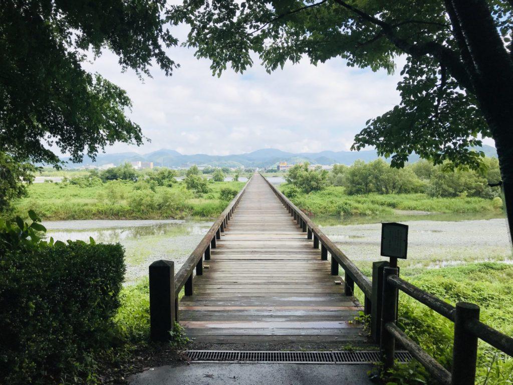 蓬莱橋の対岸側