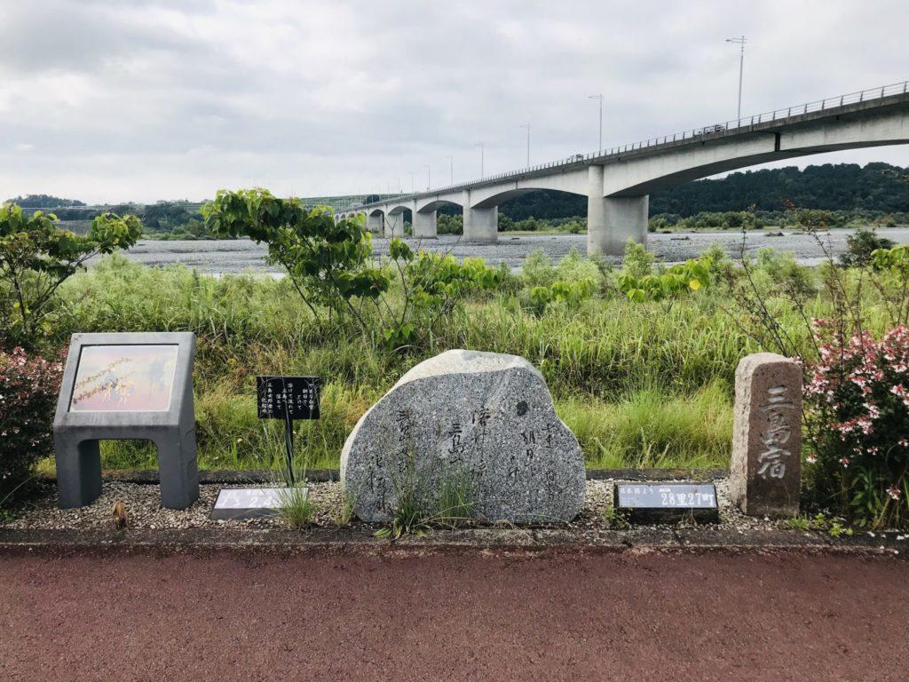大井川のリバティコースにある宿票