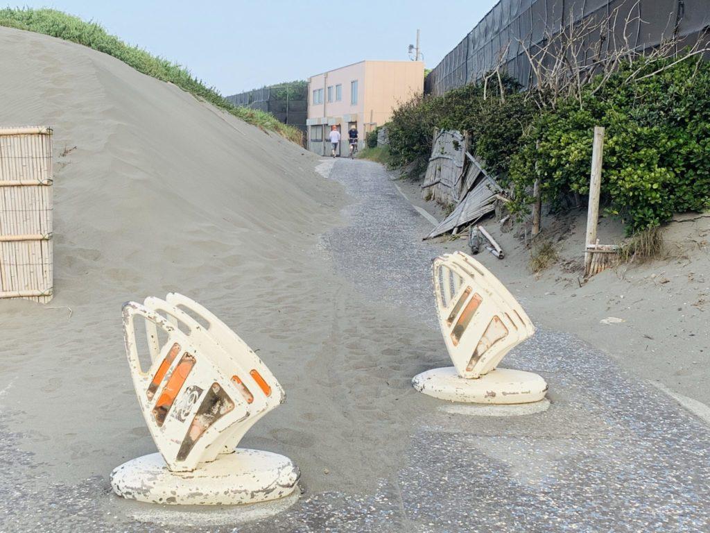 湘南サイクリングロードの入り口