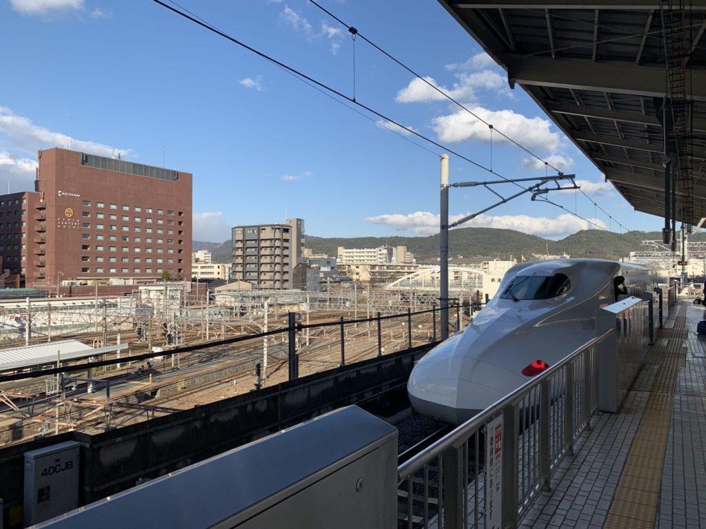 京都マラソン遠征で京都駅