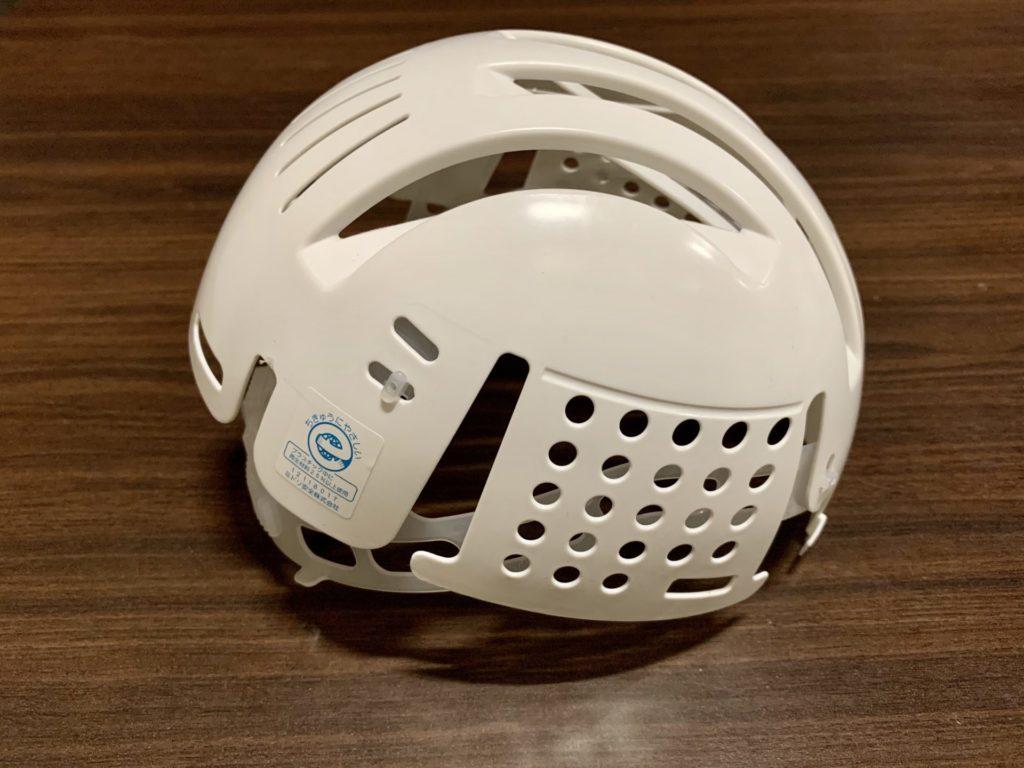 富士登山競走で配られるヘルメット