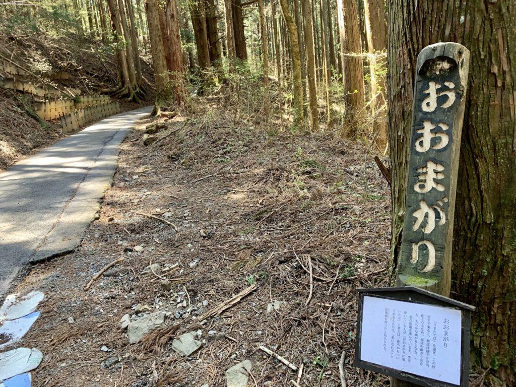 御岳坂道ランニングはおおまがりからは楽かも