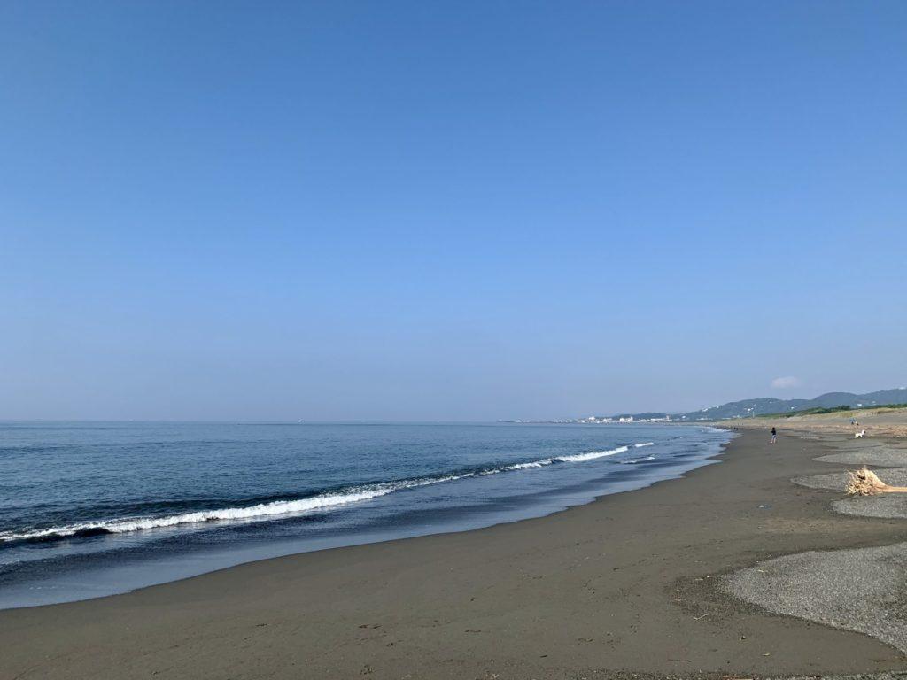 平塚の海から大山山頂へランニング
