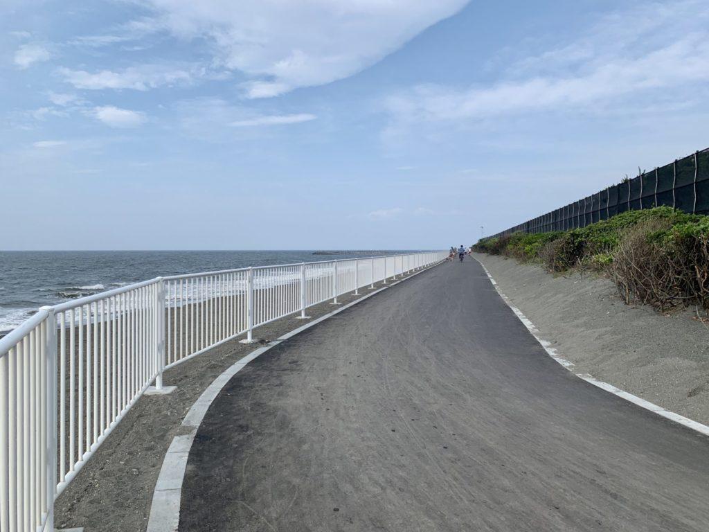 湘南サイクリングロード、台風により流出した箇所が完全復旧