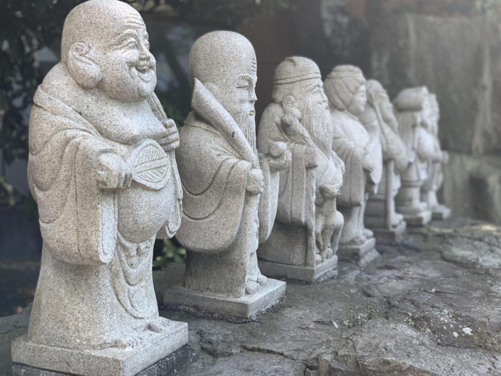 七福神を興津の健康ランドで見た