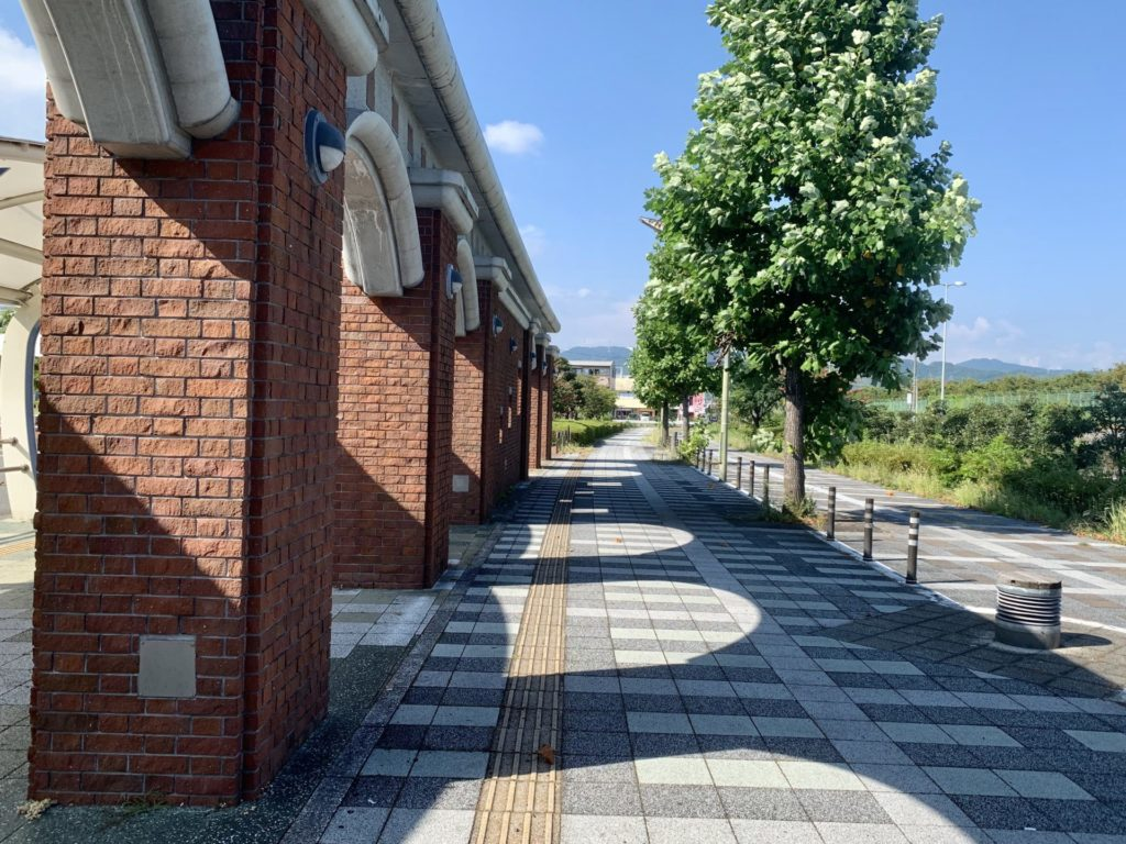 清水駅周辺をランニング