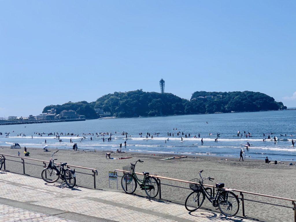 江ノ島を望む湘南国際マラソン