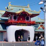 真夏の江ノ島をランニング