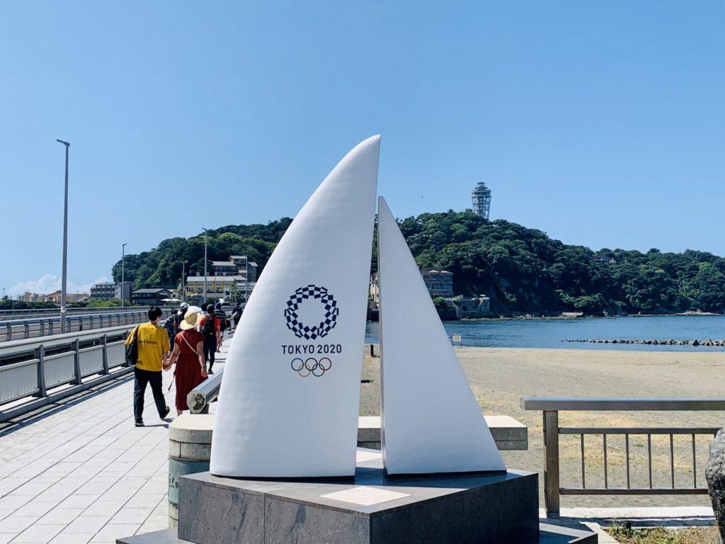 江ノ島はオリンピック会場、夏はランニングでよく行く