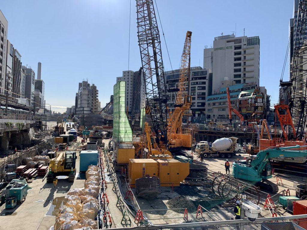 渋谷駅で進む大規模開発