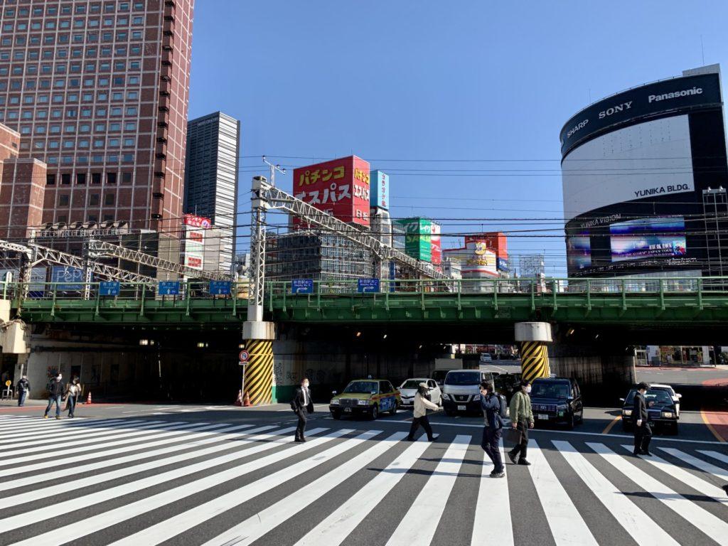 新宿駅大ガード下