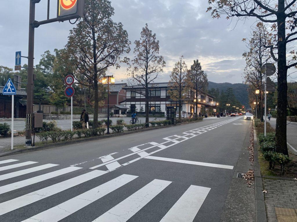 京都マラソンのゴール前数百メートル