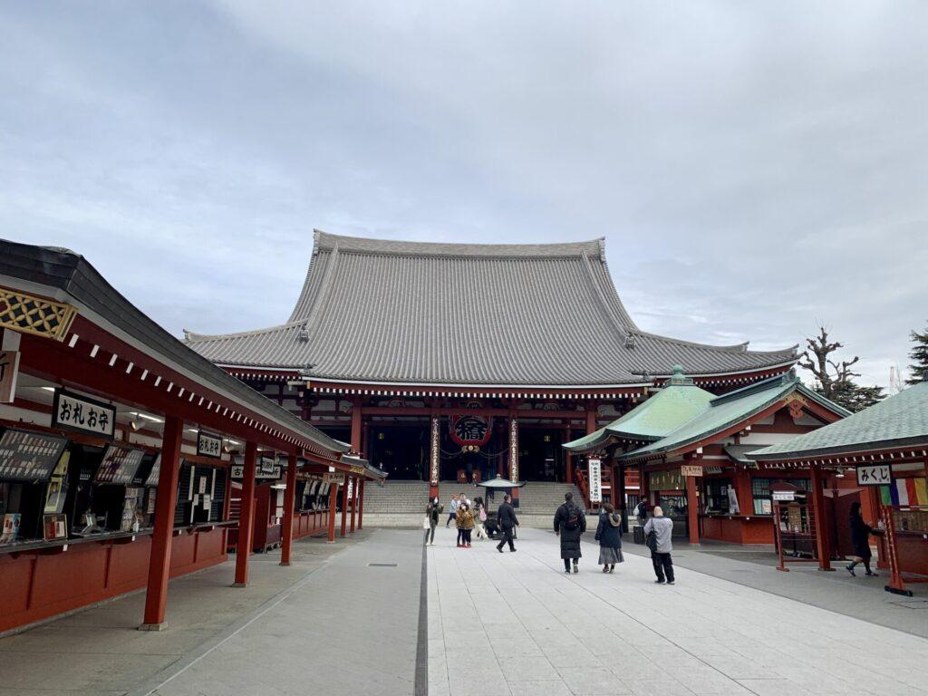 浅草寺へ早朝ランニング