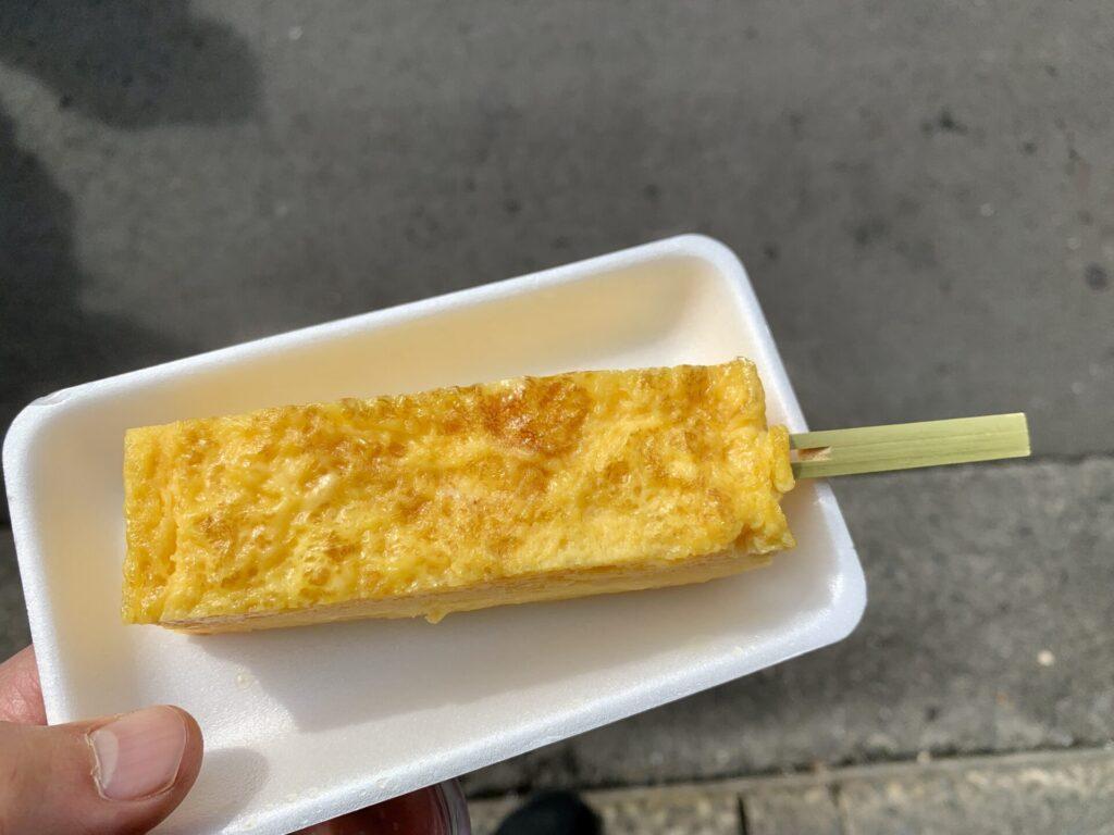築地山長の100円卵焼き