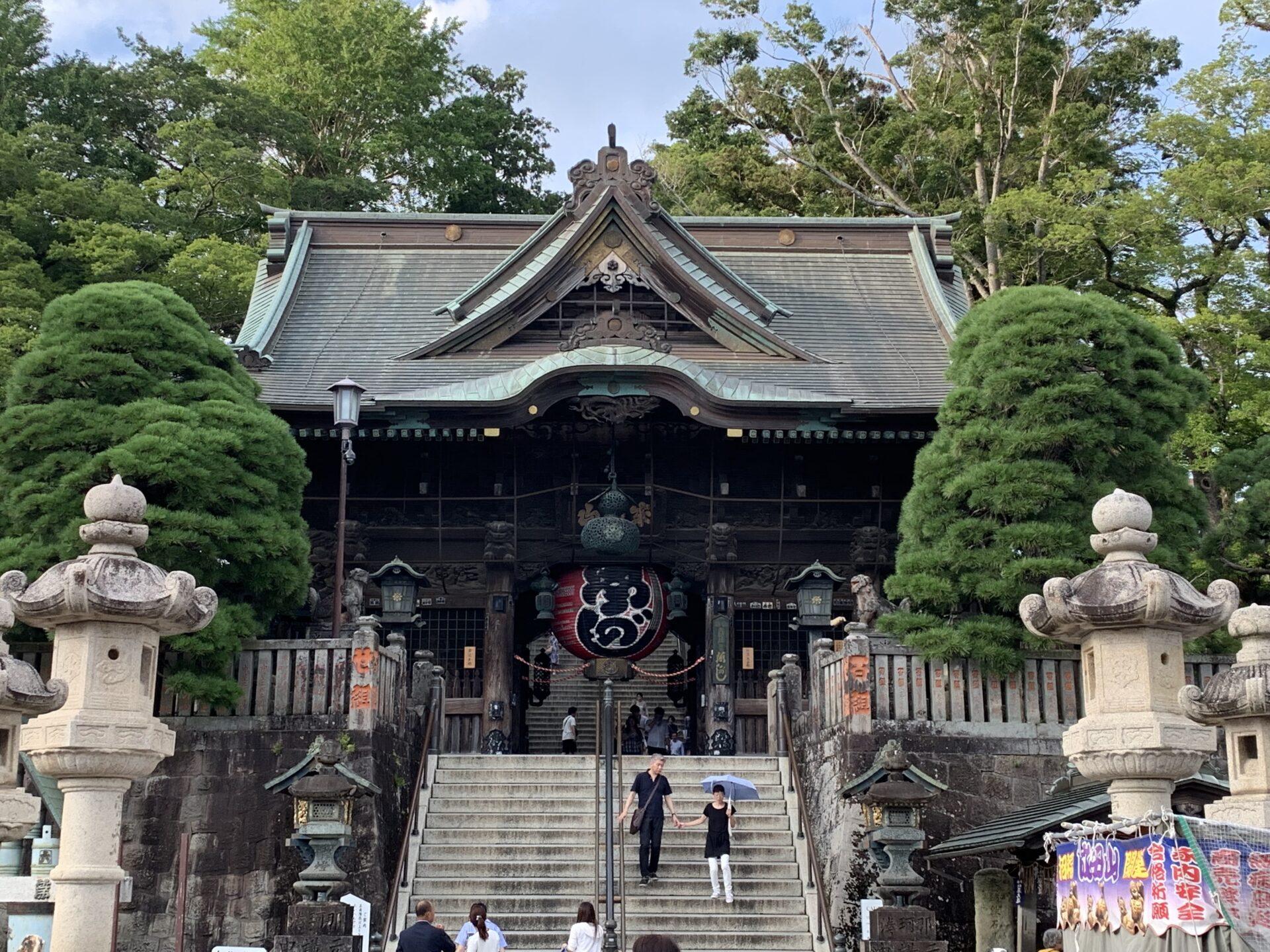 成田山新勝寺までうなぎ食べにロングラン