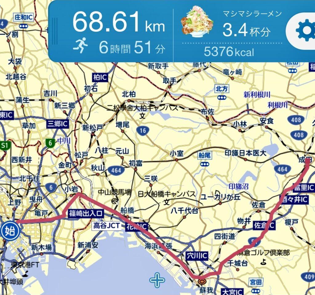 東京駅から成田山新勝寺へうなぎを食べにロングラン