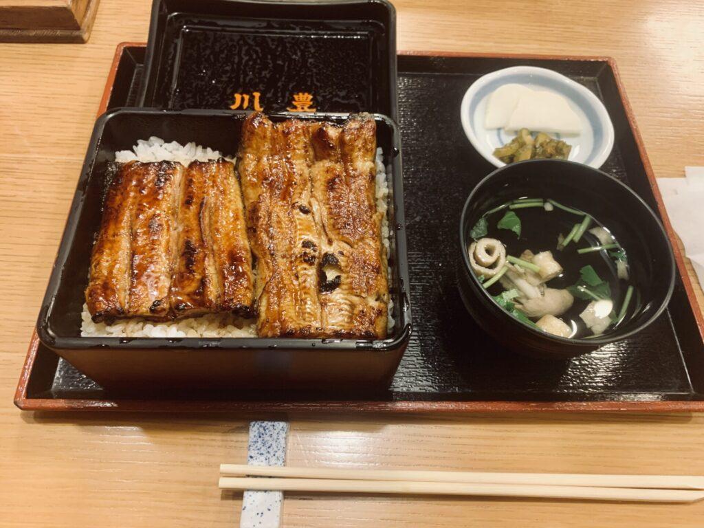 成田山新勝寺うなぎ名店「川豊」までロングラン