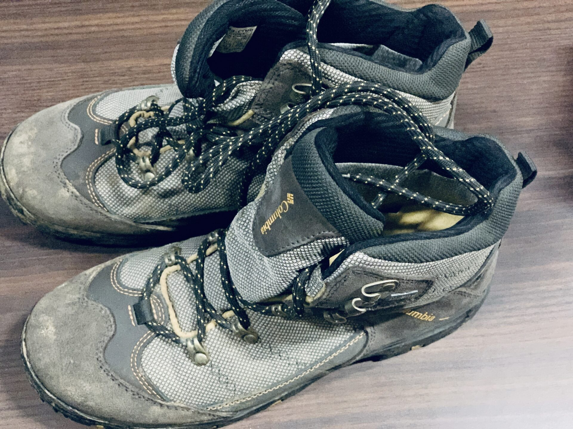 Columbia(コロンビア)Gore-Texの登山靴で富士山を登山した
