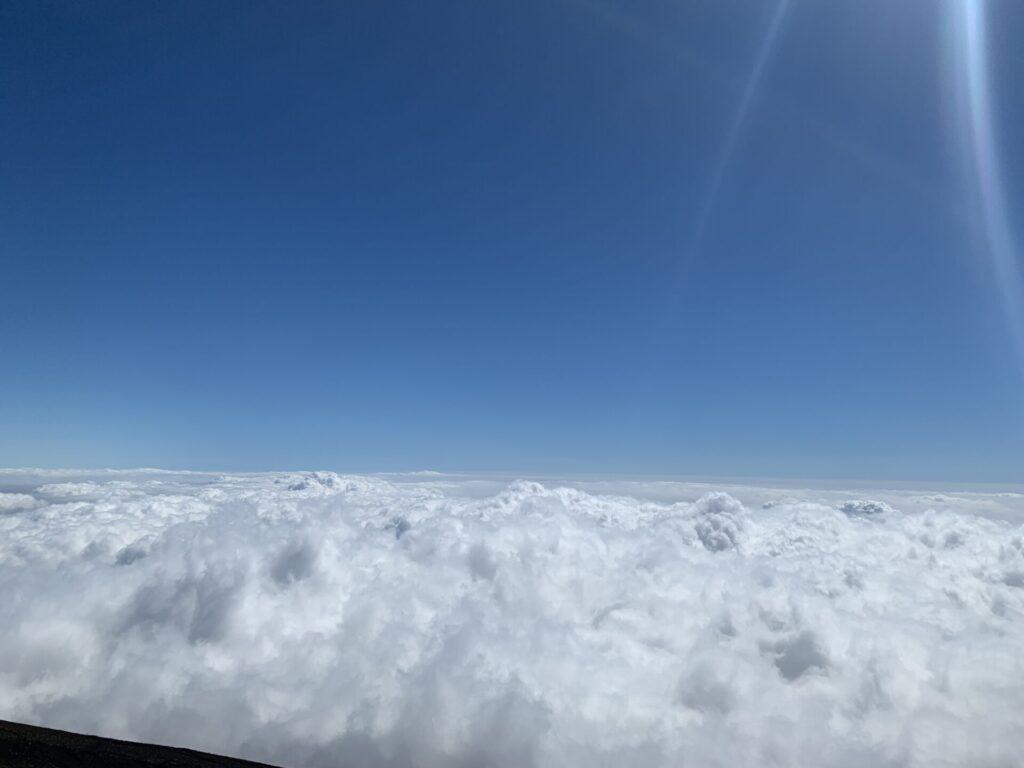 雲海を見たわらじ館