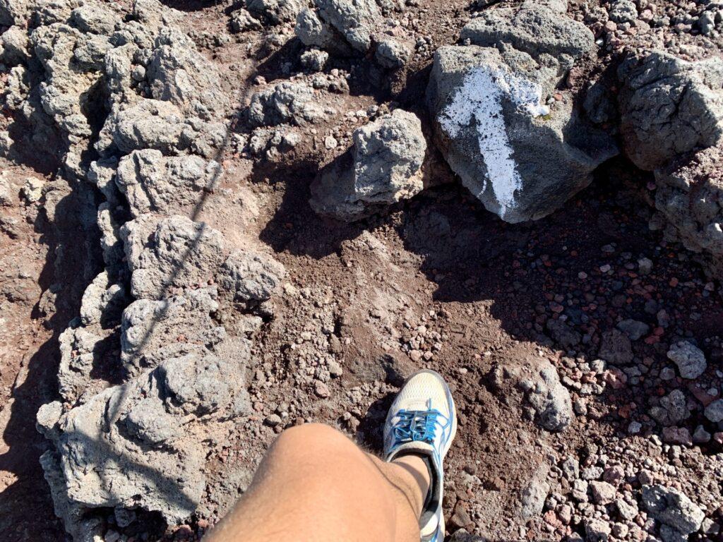 トレランシューズで富士登山