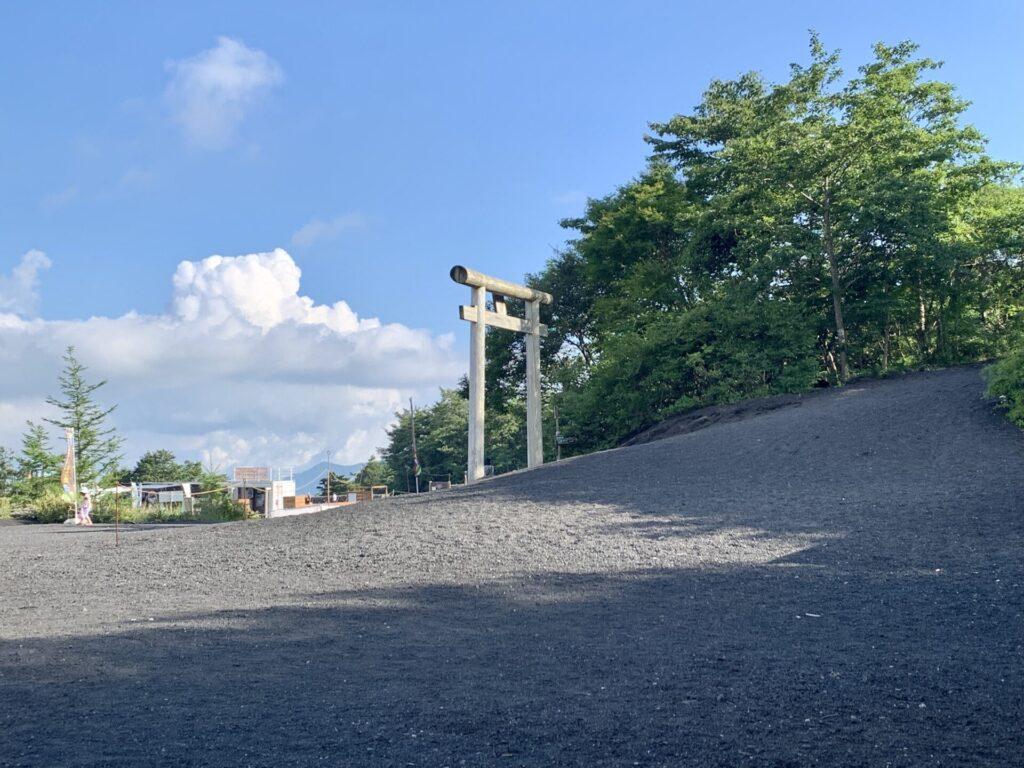 御殿場ルート五合目登山口