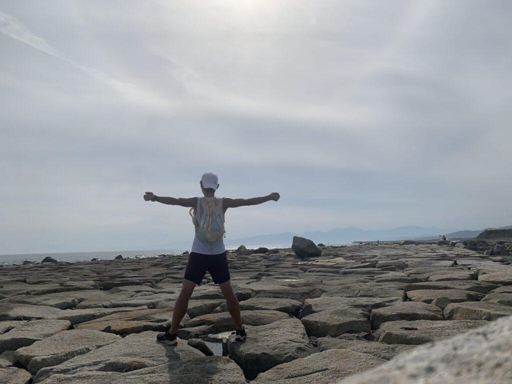 柳島までランニング