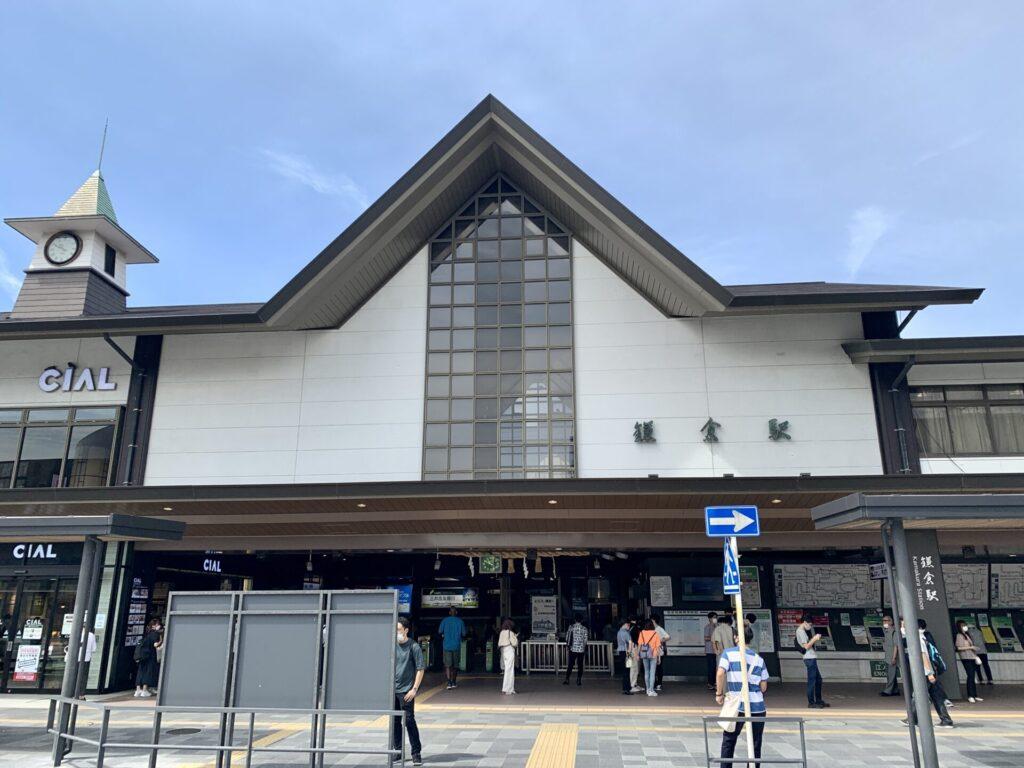 鎌倉駅から湘南ランニングをスタート