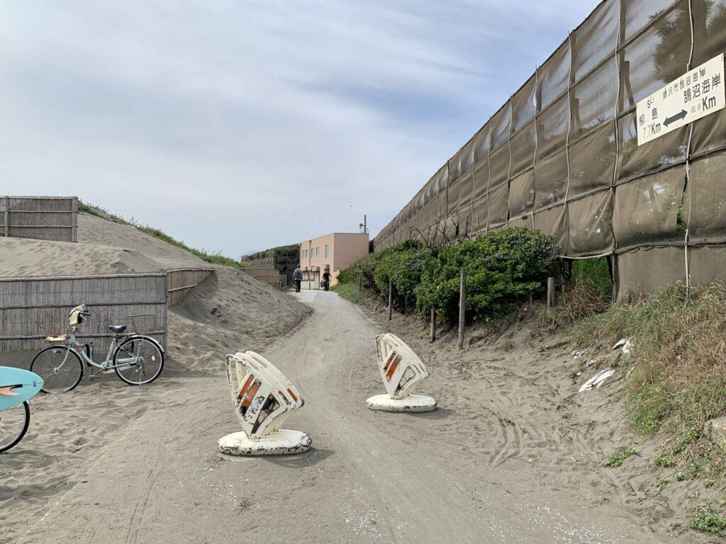鵠沼海岸から柳島までランニング